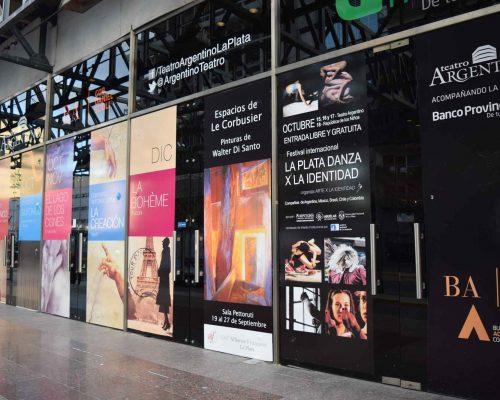 Frente del Teatro Argentino